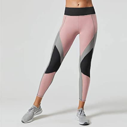 Gym entraînement yoga fitness aérobic marche confort tight spandex pantalon