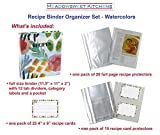 Meadowsweet Kitchens Recipe Binder Gift Set, Recipe