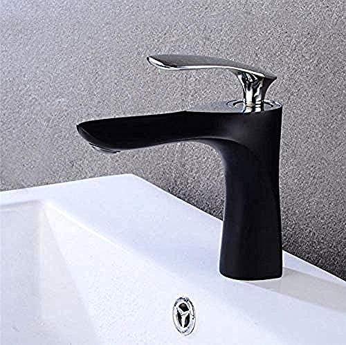 SYF-SYF 蛇口タップ流域の蛇口エレガントな浴室の蛇口ホットとコールド洗面ミキサータップクロームブラスの蛇口トイレシンク水クレーン 蛇口
