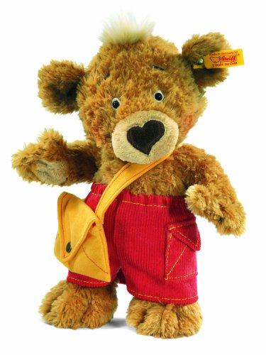 - Steiff 25cm Knopf Teddy Bear (Golden Brown)