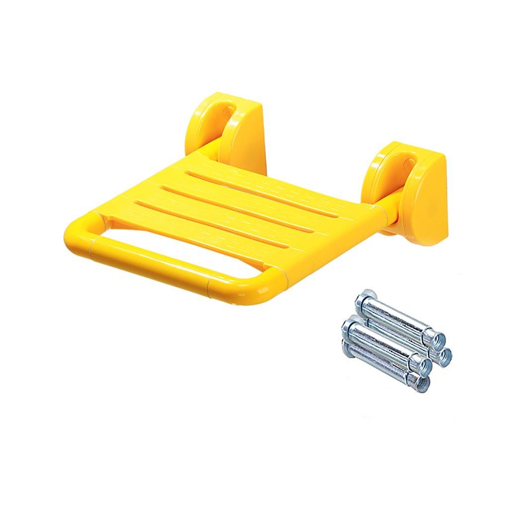 バスルームスツールフォールドウォールチェアオールドマン安全なアクセシビリティバススツールシャワースツール靴ベンチバスルーム椅子座っているスツール (色 : 1, サイズ さいず : 1) B07DVM6GMS  1 1