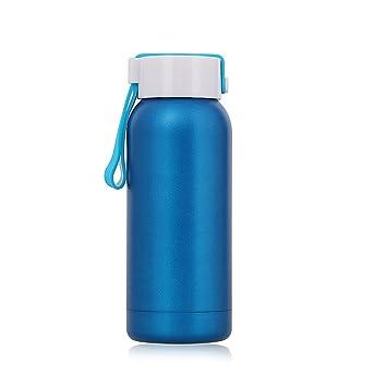 Botella Térmica 250 ML, Termo pequeño Amarilla de Acero ...