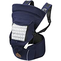 Zefer Multi Position Ergonomic Soft Baby Carrier (Navy)