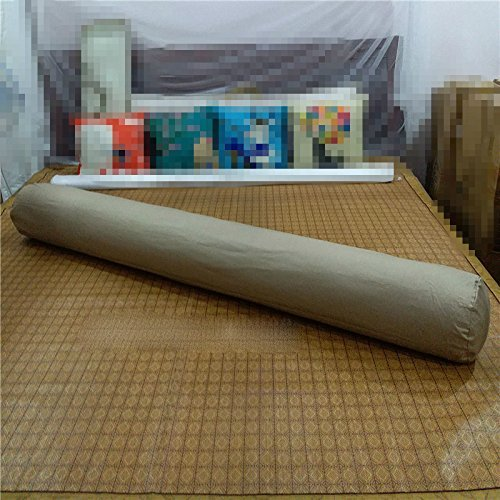 Bamboo Response Card (HOMEE Cylindrical Long Big Sleeping Pillow Clamp Around the Pure Cotton Heads Back Pad Can Be Removed from the Sofa Beds in the United States Money-Seamless ,100Cm, Eggs (Pink),Deep card its,80cm)
