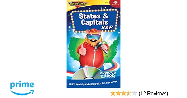 Amazon Com States Capitals Rap Audio Cd And Book By Rock N Learn Various Artists Movies Tv
