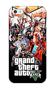 Special Lillie Bauer Skin Case Cover For Iphone 5/5s, Popular Gta V Phone Case
