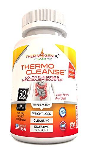 ThermoCleanse thermogénique Colon Cleanse - Les meilleurs, naturelles, Super Colon Cleanse Perte de poids et de pilules de désintoxication pour les femmes et les hommes! Ce est le plus efficace 'Triple Action' Colon Cleansing Formulation personnalisée sur