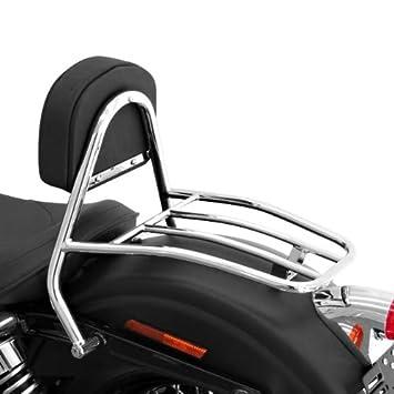 Sissy Bar + parrilla Fehling Harley Davidson Dyna Street Bob ...