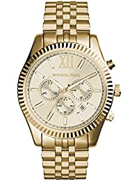 Mickael Kors MK8281 Analog Lexington Gold-Tone Stainless Steel Watch