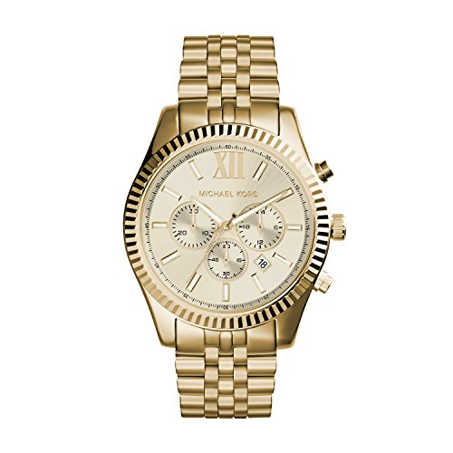 Kors MK8281 Lexington Gold Tone Stainless product image
