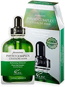 AHC] PREMIUM PHYTO COMPLEX CELLULOSE MASK 27 ml x 5ea: Amazon.es: Belleza