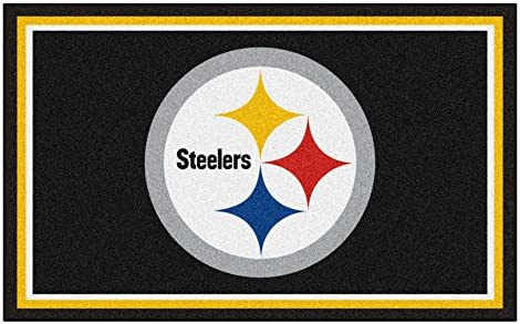 Fanmats Pittsburgh Steelers 4×6 Rug