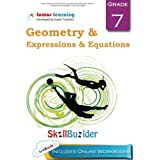 Lumos Expressions & Equations and Geometry Skill Builder, Grade 7 - Equations or Inequalities, Circles and Angles: Plus Online Activities, Videos and Apps (Lumos Math Skill Builder) (Volume 4)