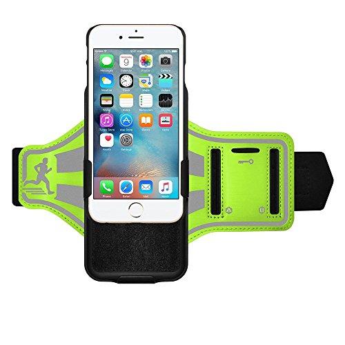 Amzer Coque shellster Brassard pour iPhone 6Plus/6S Plus–Vert