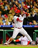 "Philadelphia Phillies Odubel Herrera At-Bat 8"" x 10"" Photo"
