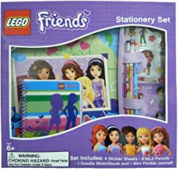 LEGO Friends Stationery Set