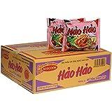 エースコック ハオハオ ベトナム インスタント麺 ピリ辛エビ味 1ケース(30袋入り) VINA ACECOOK Hao Hao Mi Tom Chua Cay 1 thung(30 goi) [並行輸入品]