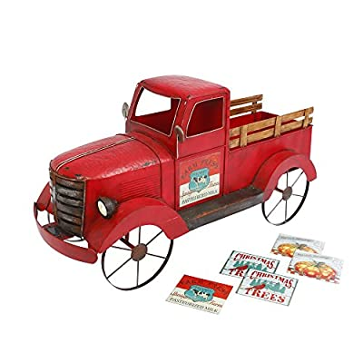 Gerson 42InL Solar Red Antique Truck