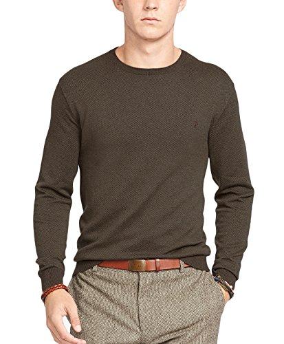 Polo Ralph Lauren Mens Big & Tall Cotton Crew Neck Sweater Green XXL