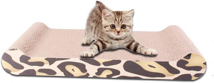 Tabla de rascar para Gatos rascadores de Gatos sof/á o Sala de Estar para rascar Gatos Maufy para Gatos con rascador para Mascotas Corrugado Reversible B de cart/ón