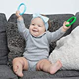 Bonbino Teether Rings - (4 Pack) Silicone Sensory