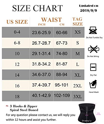 465411c0c8 Ursexyly Double Control Waist Trainer Corset Body Shaper Tummy Fat Burning  for Hourglass
