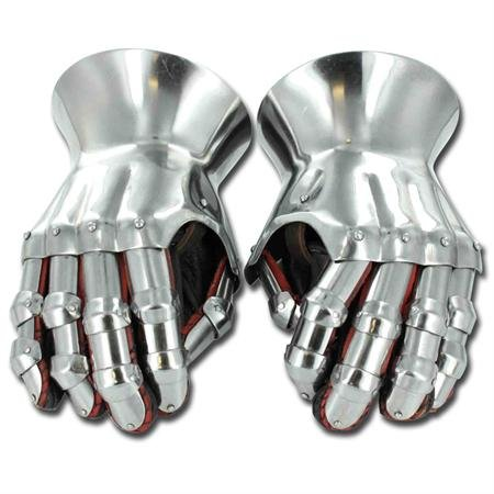 Medieval Renaissance Functional Hourglass Gauntlets Set by My Best Collecstion