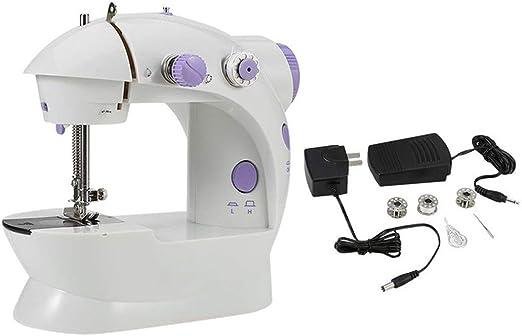 Tree-on-Life Máquina de Coser portátil Multifuncional, eléctrica, de Uso doméstico, pequeña y fácil de Usar.: Amazon.es: Hogar