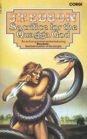 book cover of Sacrifice for the Quagga God