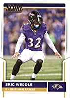 2017 Score #253 Eric Weddle Baltimore Ravens Football Card