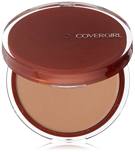 CoverGirl Clean Pressed Powder Compact, Soft Honey [155], 0.39 (Soft Compact Powder)