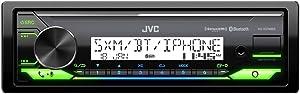 JVC KD-X37MBS Marine Digital Media Receiver With Bluetooth, USB, SiriusXM Ready, Compatible with Amazon Alexa, Conformal Coated PCB