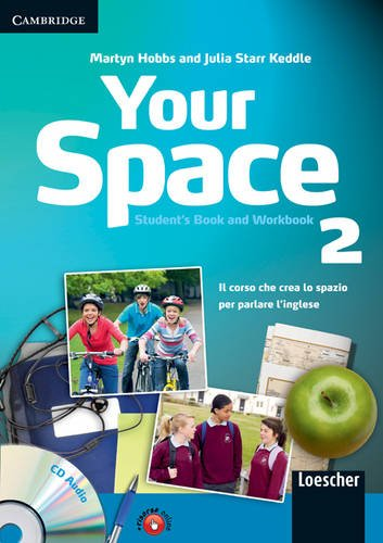 Your Space Level 2 Student's Book and Workbook with Audio CD and Companion Book with Audio CD Italian Edition ebook