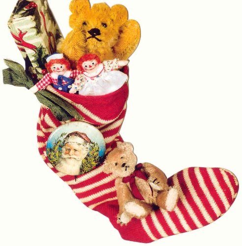 Raggedy Ann & Andy in Stocking Christmas ()