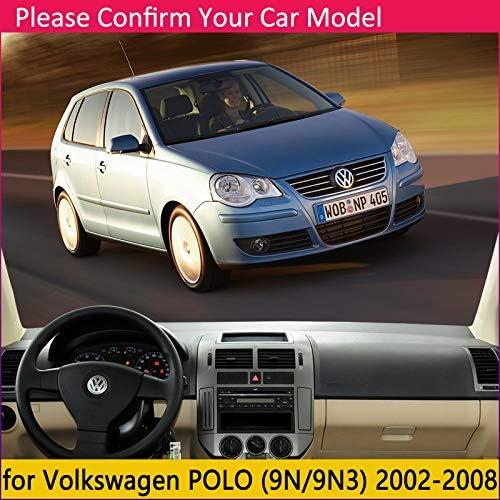 linfei Cubierta Protectora del Tablero De Instrumentos para Volkswagen Polo Mk4 2002~2008 9N 9N3 Accesorios para Autom/óviles Tablero De Instrumentos Sombrilla Alfombra Anti-UV