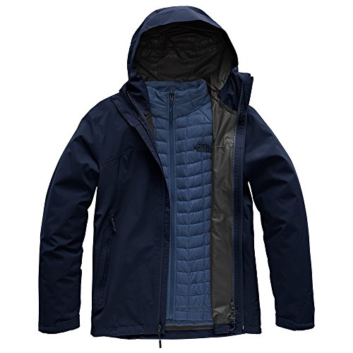 (The North Face Men's Thermoball Triclimate Jacket - Urban Navy & Urban Navy - M)