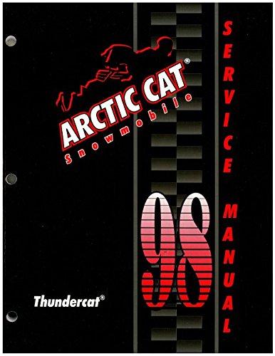 2255-725 1998 Arctic Cat Thundercat Snowmobile Service Manual ebook