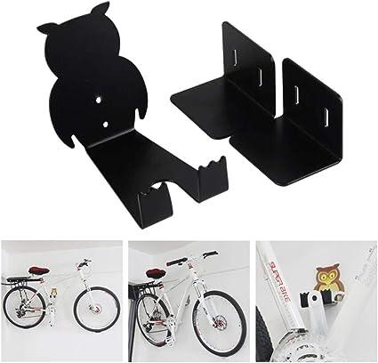 Maso - Soporte de pared para bicicleta (metal), color blanco: Amazon.es: Coche y moto