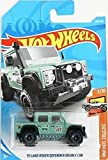 (US) Hot Wheels 2018 50th Anniversary HW Hot Trucks '15 Land Rover Defender Double Cab 158/365, Green