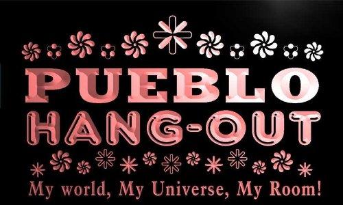 pq2296-r Pueblo Hang Out Girl Kid's Princess Room Neon Light - Pueblo Kids For