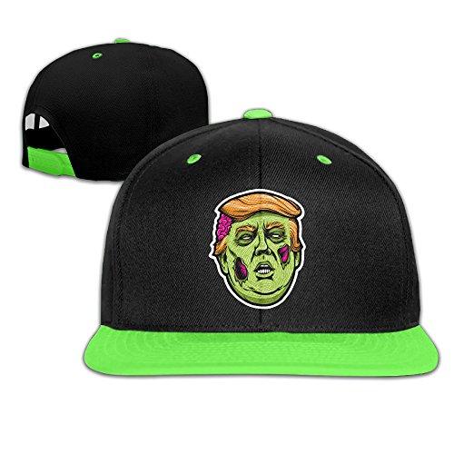 toddler-funny-trump-for-president-kellygreen-adjustable-snapback-hiphop-trucker-hat-one-size