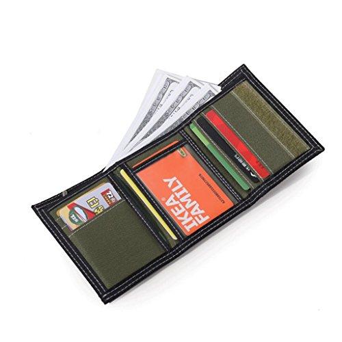 Corto card Portafoglio 3 Tela Sportivo Slot 30 Uomo Rxf In Multi Casual 6AYwwqE