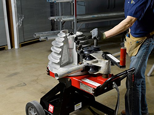 Gardner Bender B2000 Cyclone Electric Powered Bender, ½ - 2 in. EMT, Rigid, Rigid Aluminum & IMC Conduit, & ½ - 1½ in. PVC-Coated Conduit, No Shoe Group, Red & Black by Gardner Bender (Image #5)