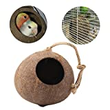 BigFamily Cage Nest Durable 1pcs Coconut Shell Parrot Climbing