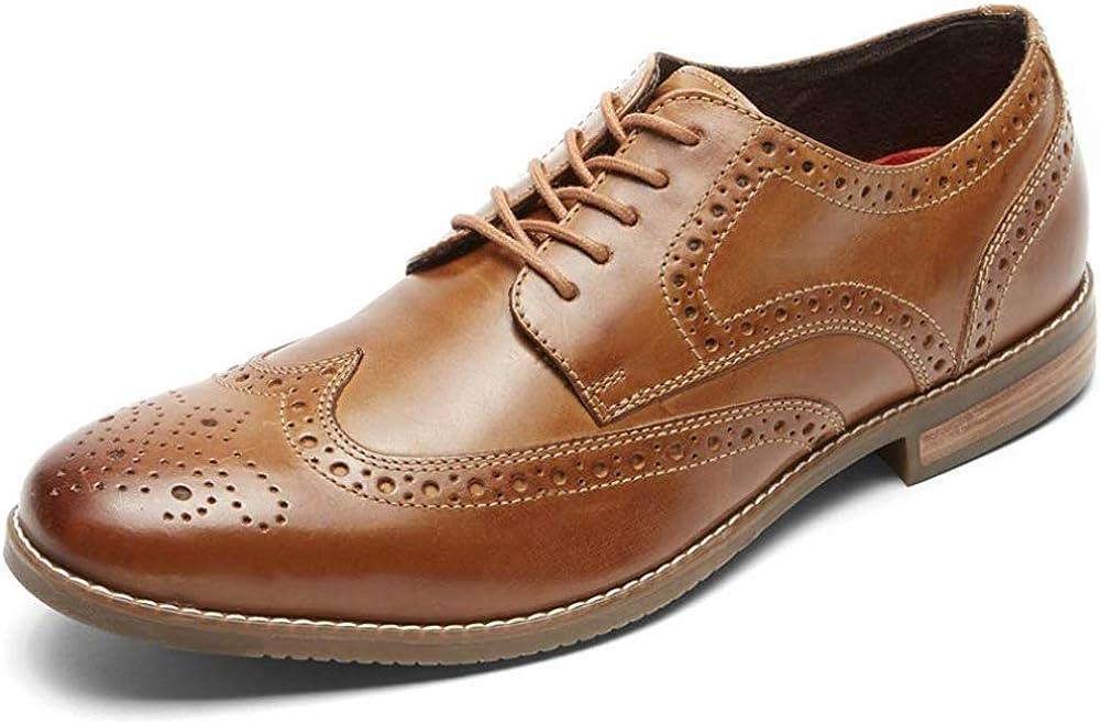 Rockport Men's Symon Wingtip Shoes, 8.5