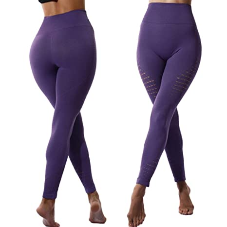 Amazon.com: Fafalisa Leggins Sport Women Fitness Seamless ...