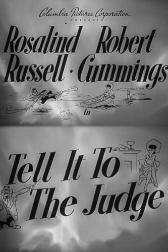 Tell It To The Judge - Cumming Pictures Women
