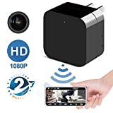 #9: Phreilend Hidden Camera - 1080p HD - WiFi Remote View - Motion Detection - Charging Phones (Support 128GB Micro SD Card)