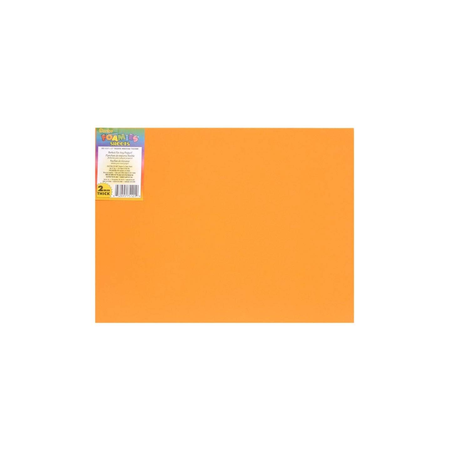 FOAMIES 1144-30 Sheet, 2mm/30cm X 45cm, Black Darice