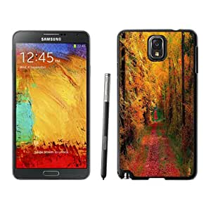 NEW DIY Unique Designed Samsung Galaxy Note 3 Phone Case For Autumn Woods and Road Phone Case Cover